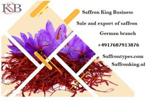 Contract to buy saffron