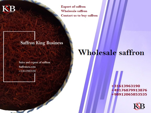 Wholesale saffron sellers