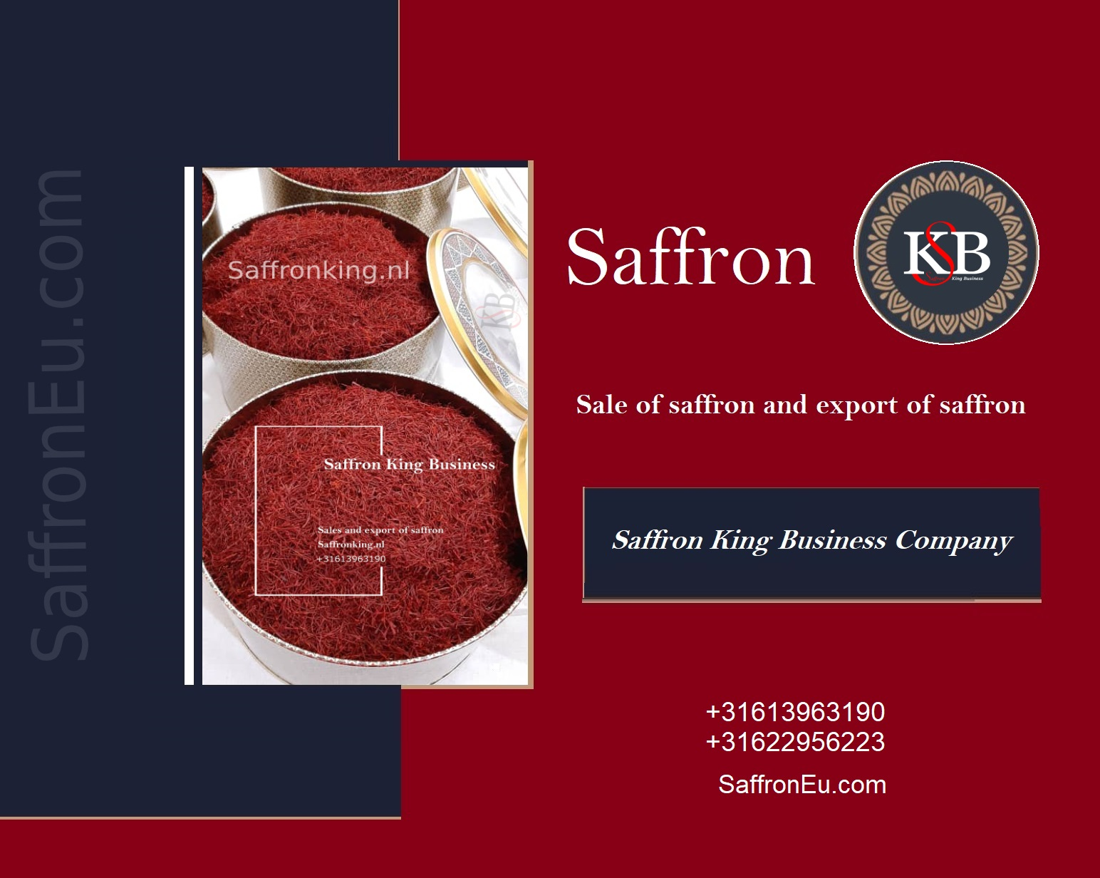 Wie importiere ich hochwertigen Safran?