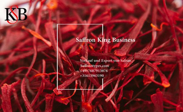 Verkauf von erstklassigem Bio-Safran