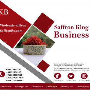 Großhandelspreis für Bulk Safran