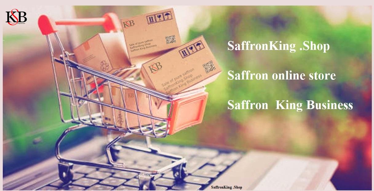 Safran Online-Shop auf dem Safranmarkt