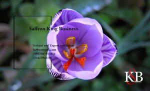 Saffron wholesaler with a diversified customer base