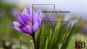 Preisliste für den Export von Safran