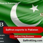 Safranexporte nach Pakistan und Safranpreise