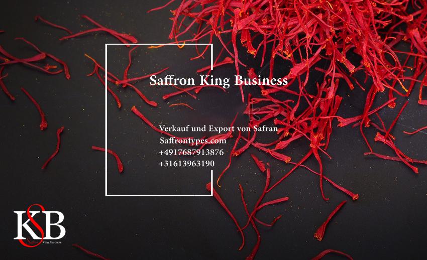 Export und Verkauf von Safran nach Europ