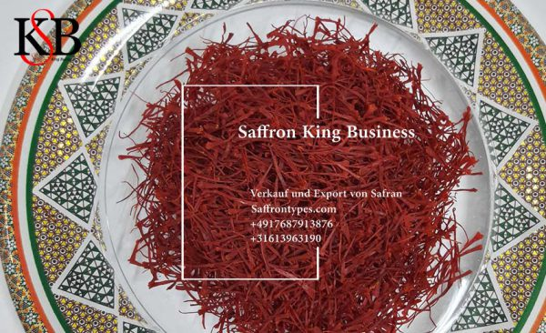 Export von Safran und Verkauf von Safran