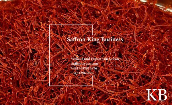 Export von Safran in die Schweiz