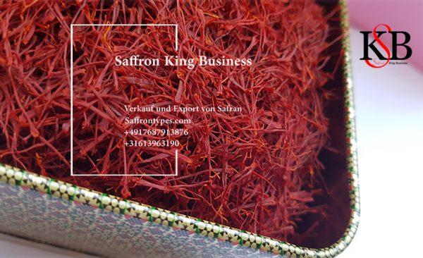 Verkauf von Safran in europäischen Ländern