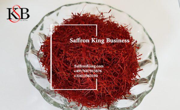 Exportierter Safran