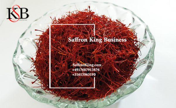 Verkauf von reinem Safran