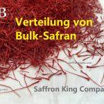 Verteilung von Bulk-Safran