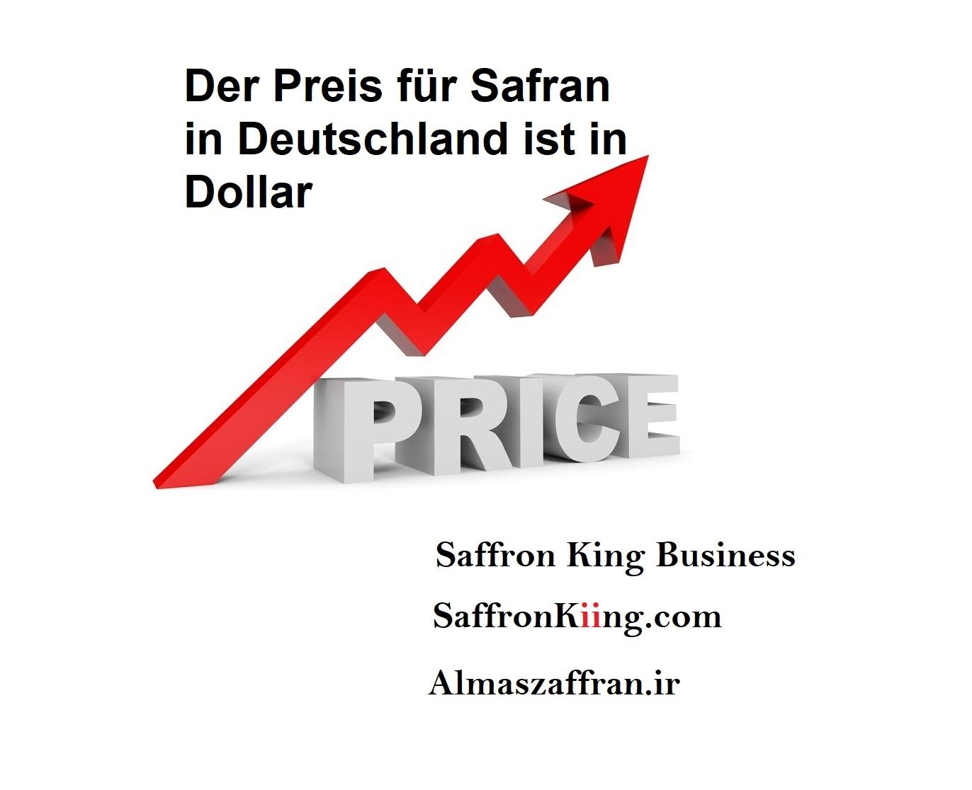 Der Preis für Safran in Deutschland ist in Dollar