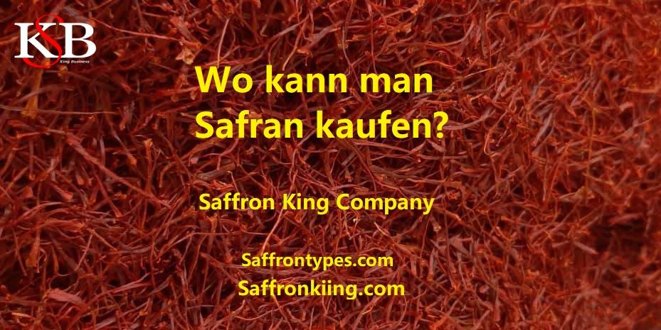 Wo kann man Safran kaufen?