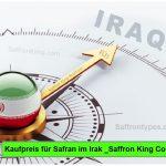 Kaufpreis für Safran im Irak