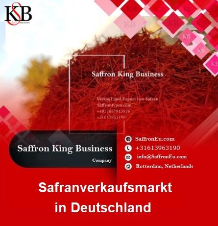 Safranverkaufsmarkt in Deutschland und Safranpreise