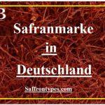 Safranmarke in Deutschland