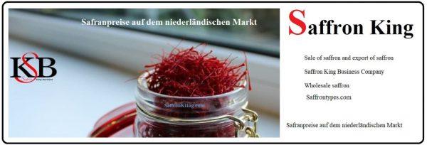 Safran pflanzen, um Safran zu exportieren