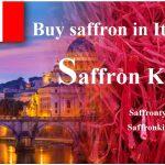 preis von Safran in Italien