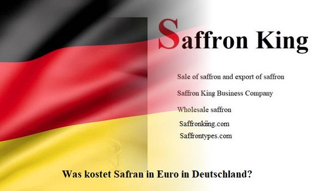 Was kostet Safran in Euro in Deutschland?