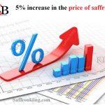 5% Erhöhung des Safranpreises