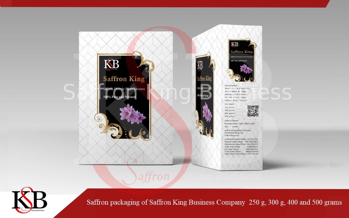Verkauf von Premium Safran im Einzelhandel