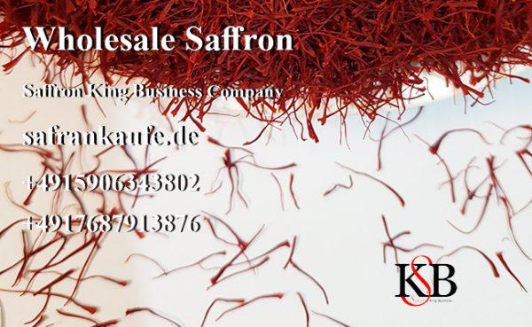Direktvertrieb von Premium-Safran