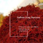 Verkauf von losem Safran