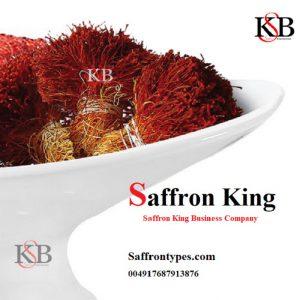 Verkauf von frischem Safran